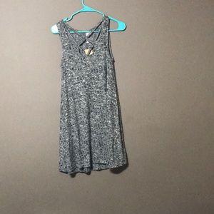 Franccescas gray shift dress